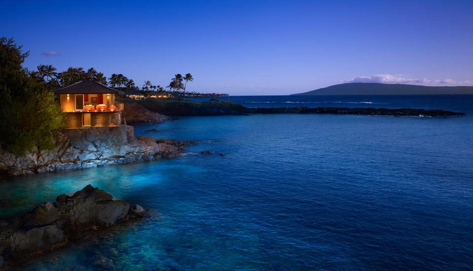 Montage Kapalua' Bay's Cliff House, which is seen here, is available to residents as an unparalleled venue for private events on Maui.
