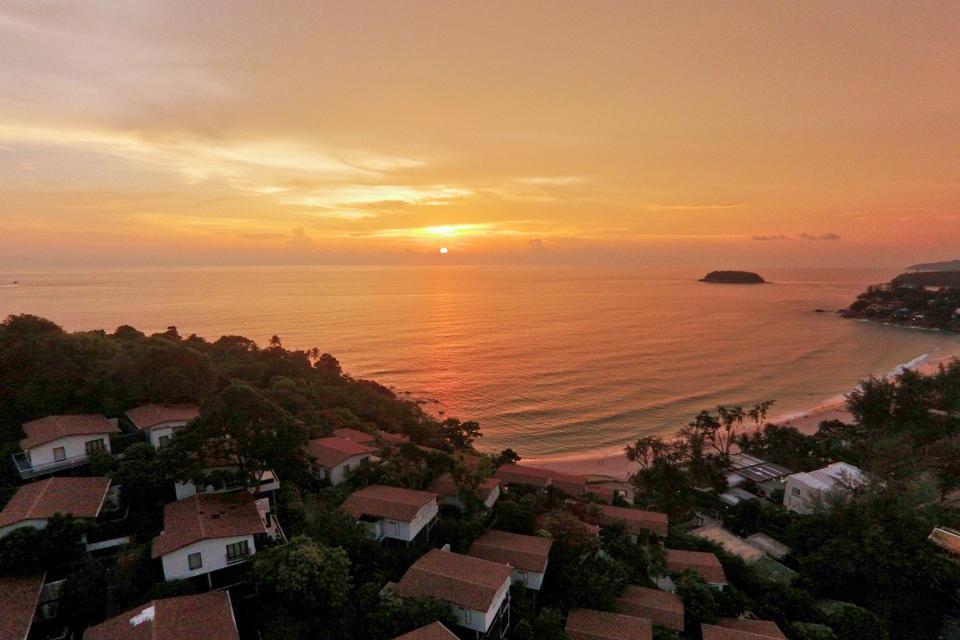 Sunset at The Shore Katathani