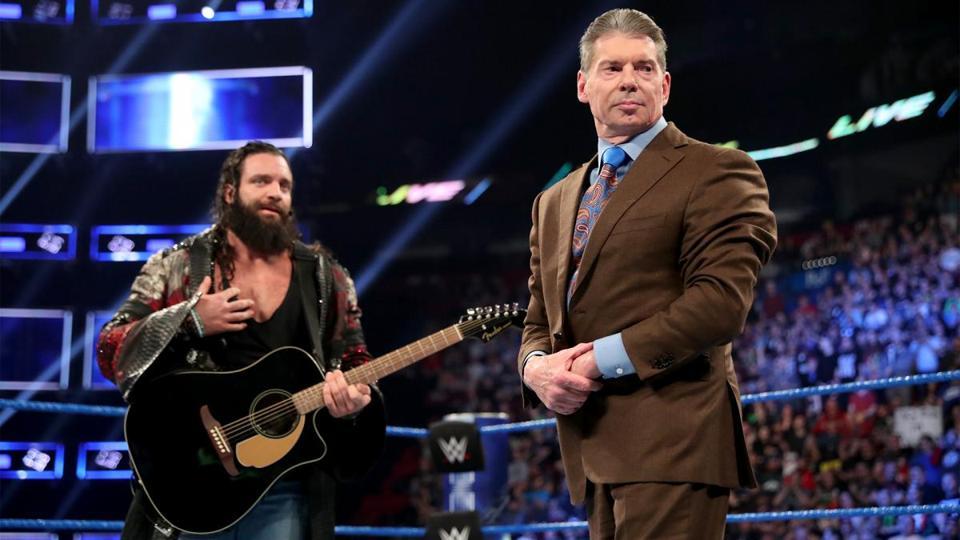 Elias and Vince McMahon