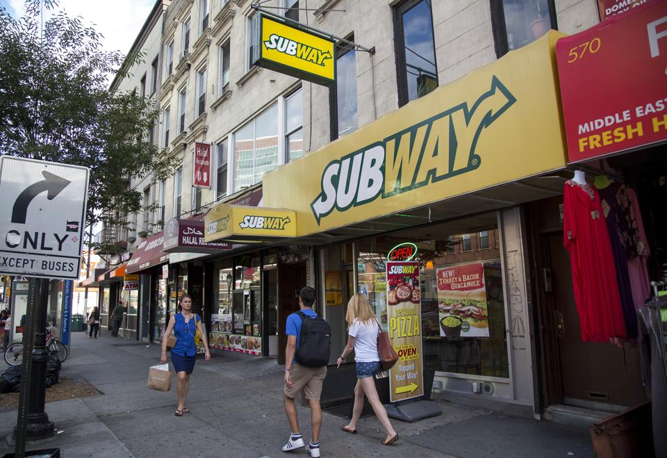 The Subway franchise may need to change course in more ways than one.