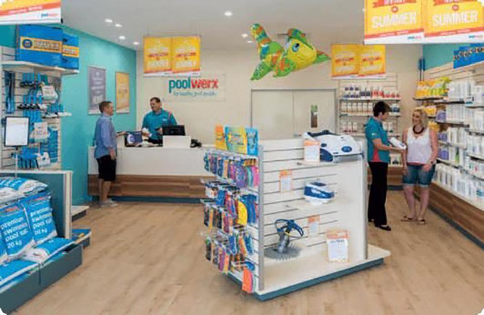 Poolwerx retail store
