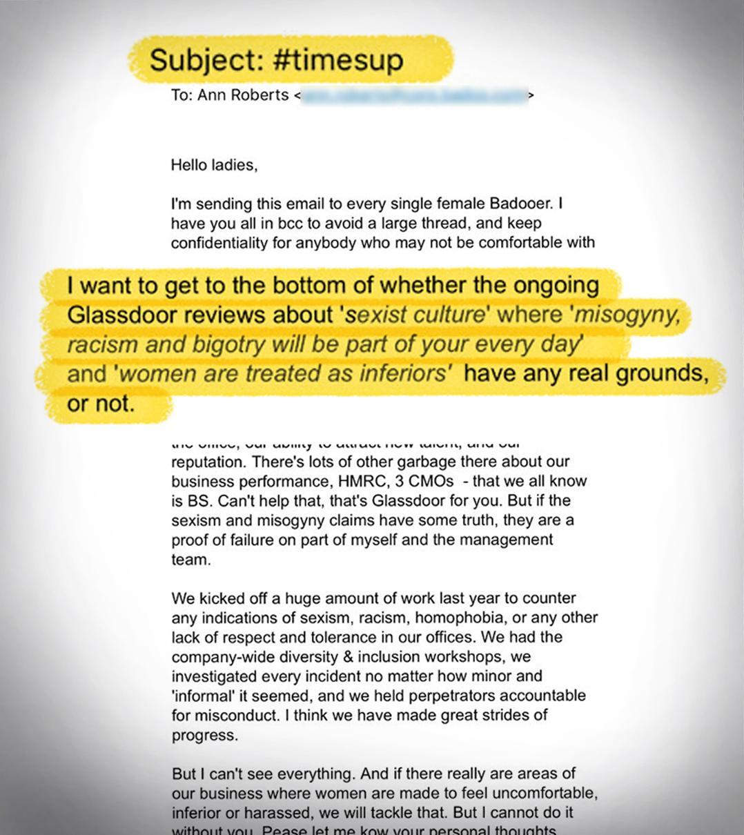 memo-badoo-january-survey-letter