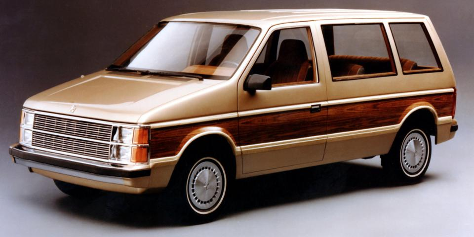Iacocca passed on the minivan design at Ford and then greenlighted it at Chrysler.