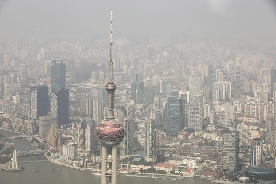 Buildings are seen in Shanghai, China