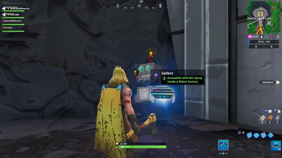 Fortnite' Fortbyte #52 Location: Accessible With Bot Spray Inside A