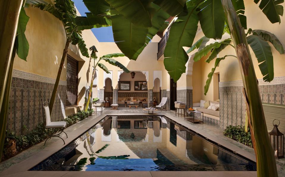 Villa des Orangers, Marrakech,