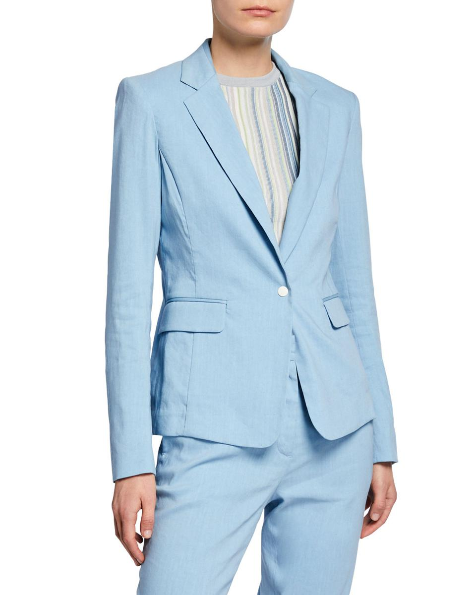 EY Signature Perfectly Piped Suit
