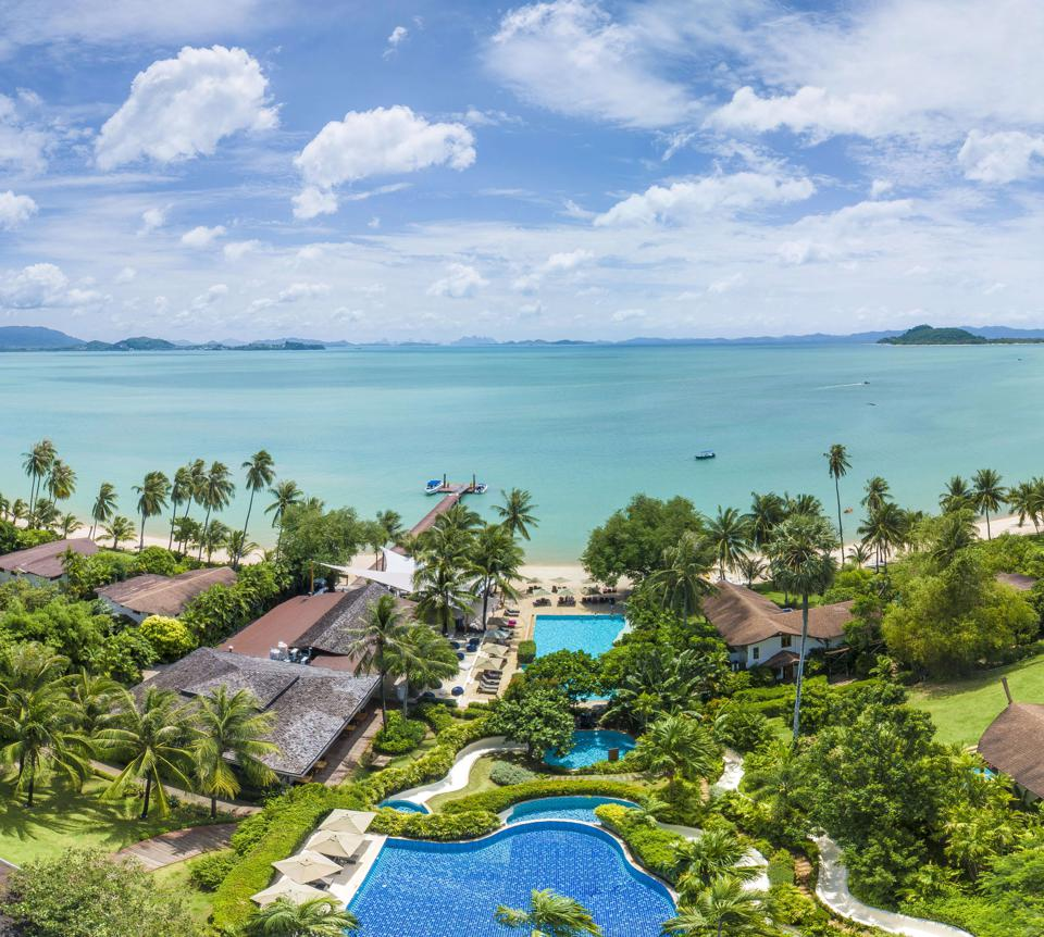 The Village - Coconut Island near Phuket, Thailand.