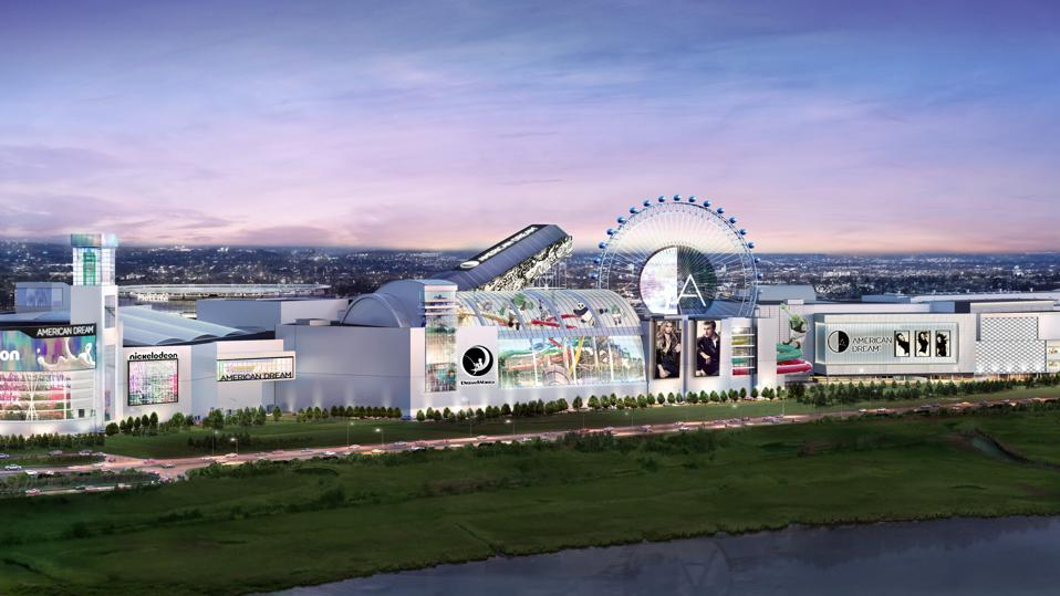 An artist's rendering of the American Dream Meadowlands
