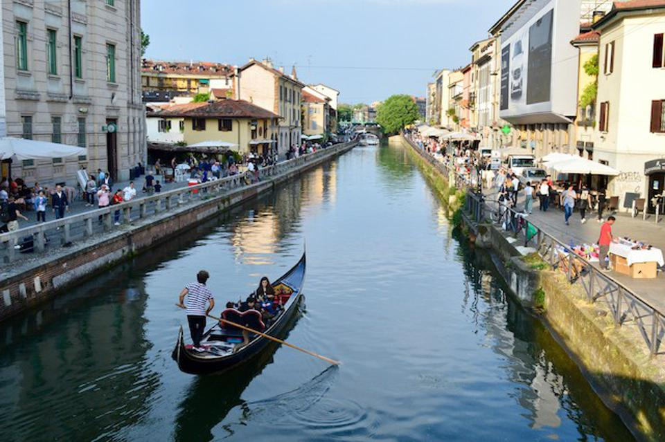 The Navigli District of Milan