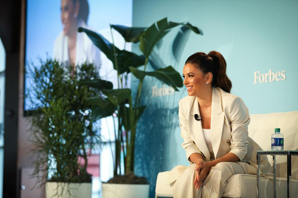 Eva Longoria at Forbes Women's Summit 2019