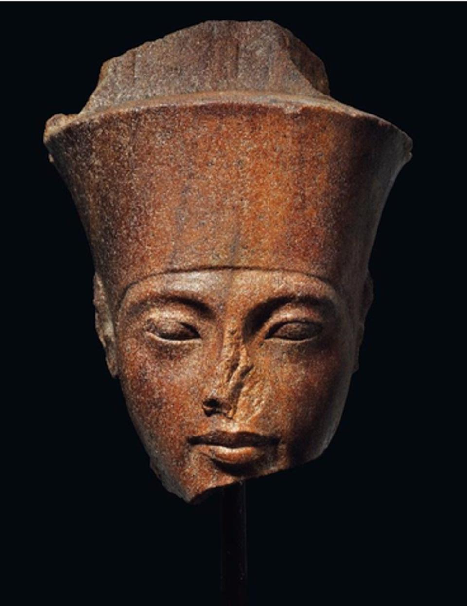 The Pharaoh Tutankhamen 1333-1323 BC.