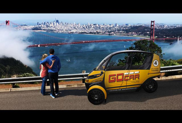 Arcimoto Partners With GoCars For San Francisco Tours