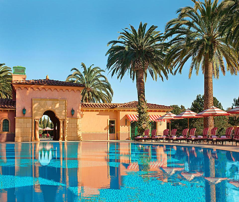 pool at Fairmont Grand Del Mar