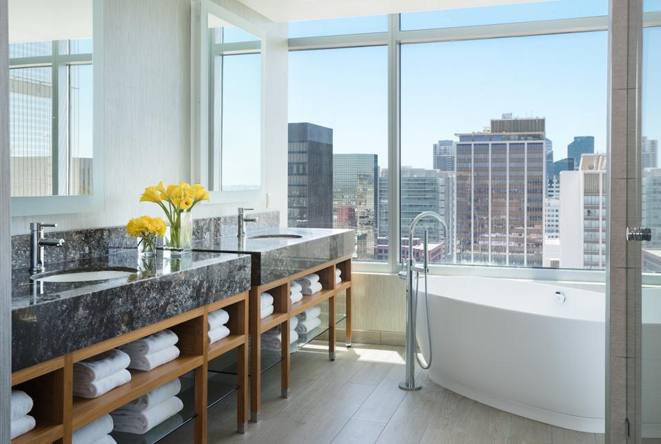 Kimpton Palomar Skyline Penthouse Bathroom