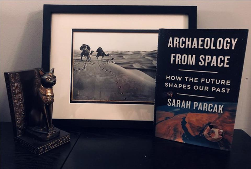 Parcack's new book, Archaeology From Space