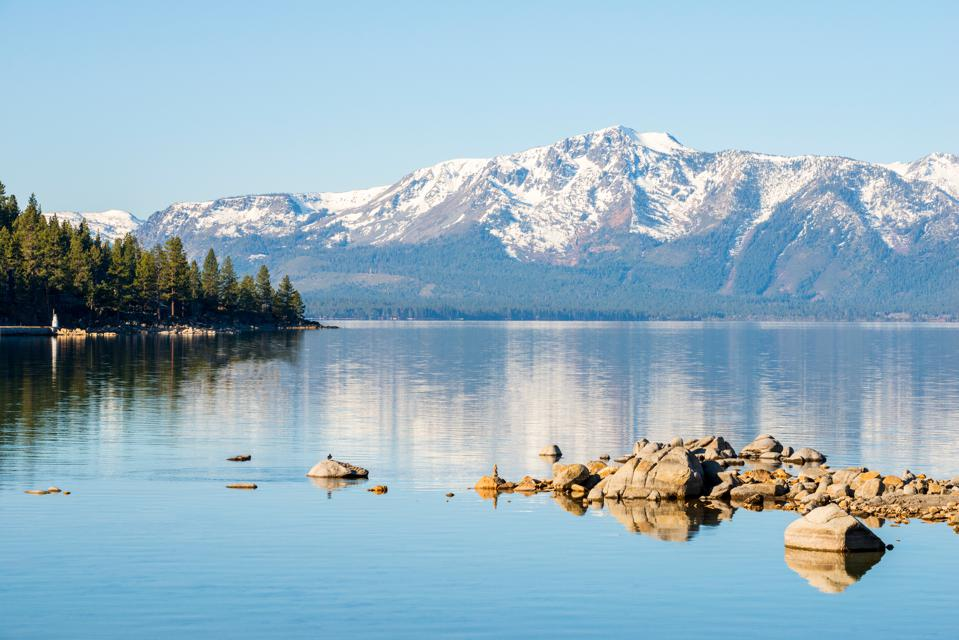 The natural beauty of Lake Tahoe.