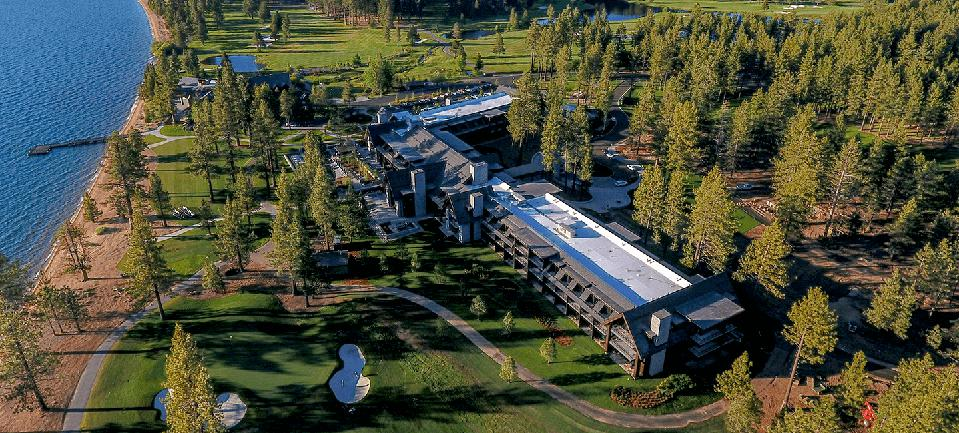 Edgewood Tahoe is a favorite hotel in the South Tahoe area.