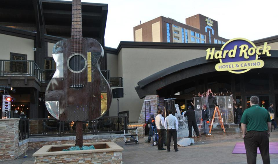 Hard Rock Hotel & Casino is a popular Lake Tahoe hotel.