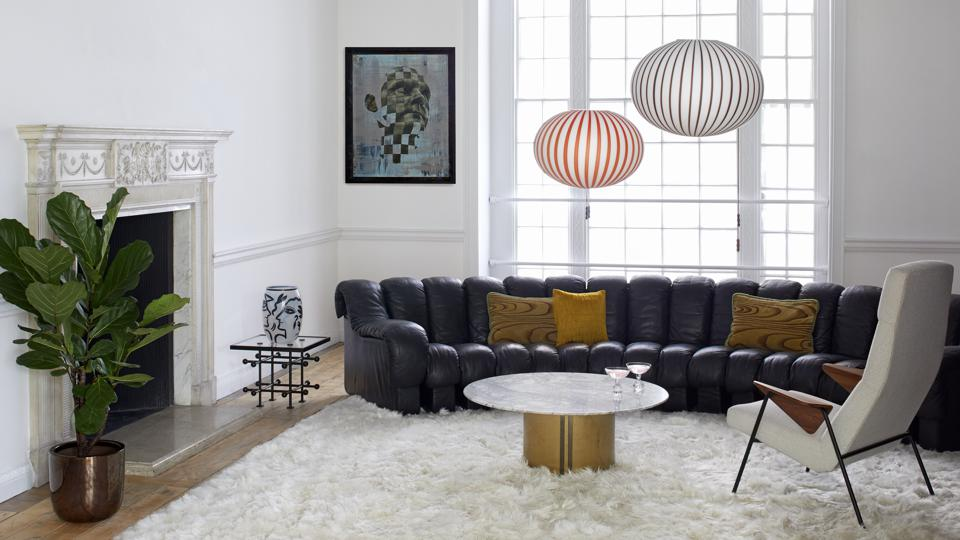 Renting furniture and accessories to dress a space allows the consumer to be more creative