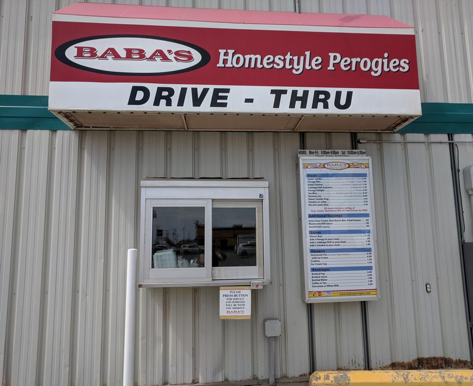 perogy restaurant drive-thru