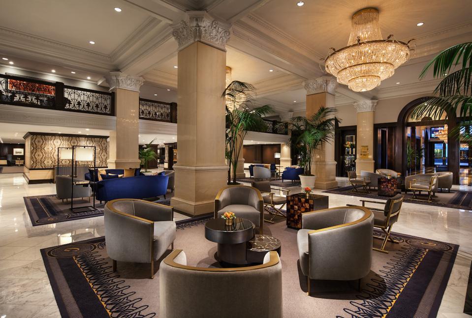 THE US GRANT hotel lobby