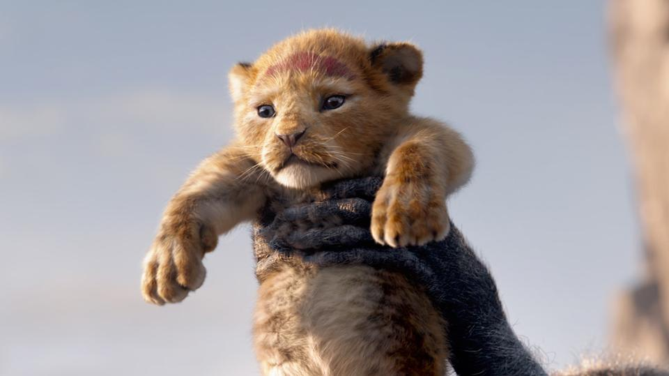 Simba, voiced by Donald Glover, is revealed to the kingdom in Disney's ″The Lion King″