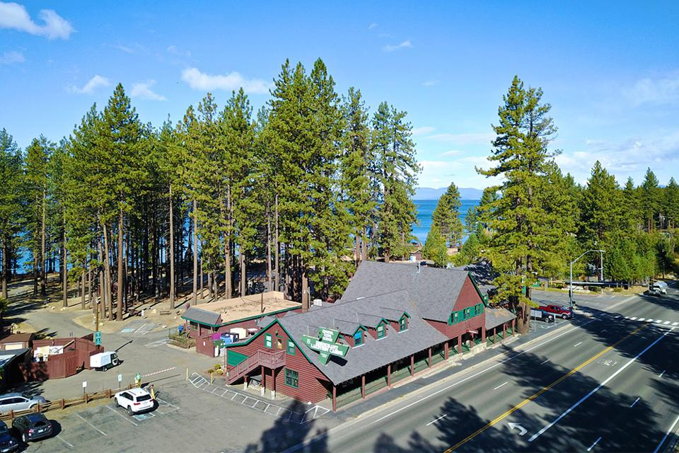Zephyr Cove Resort offers a nice natural setting in Lake Tahoe.
