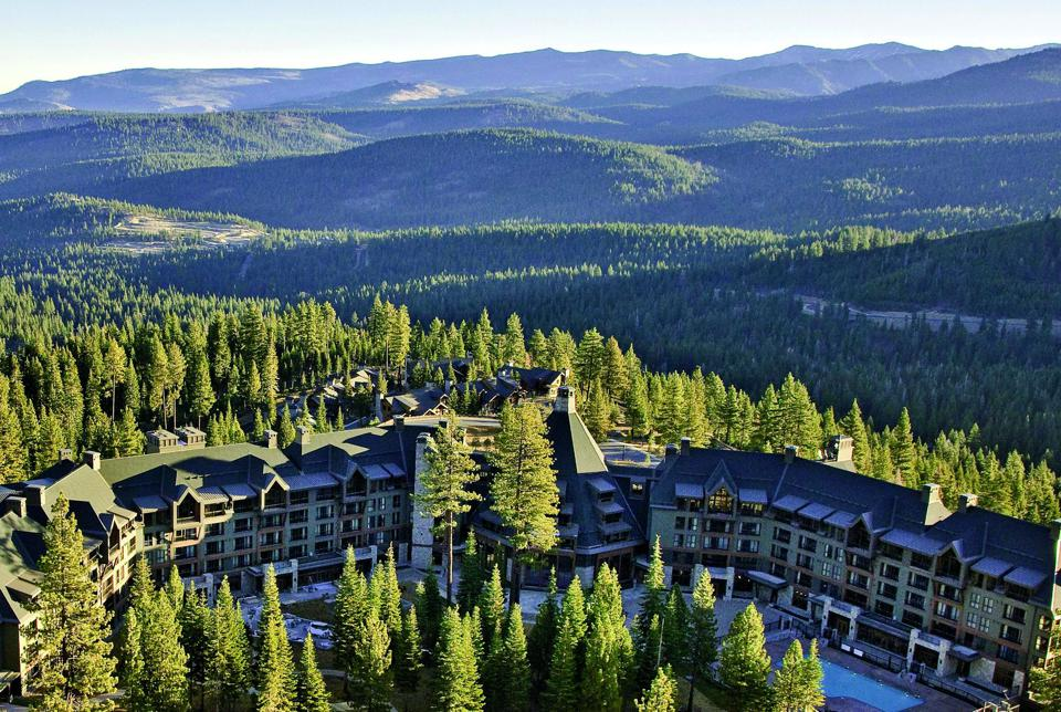 North Lake Tahoe is home to opulent hotels.
