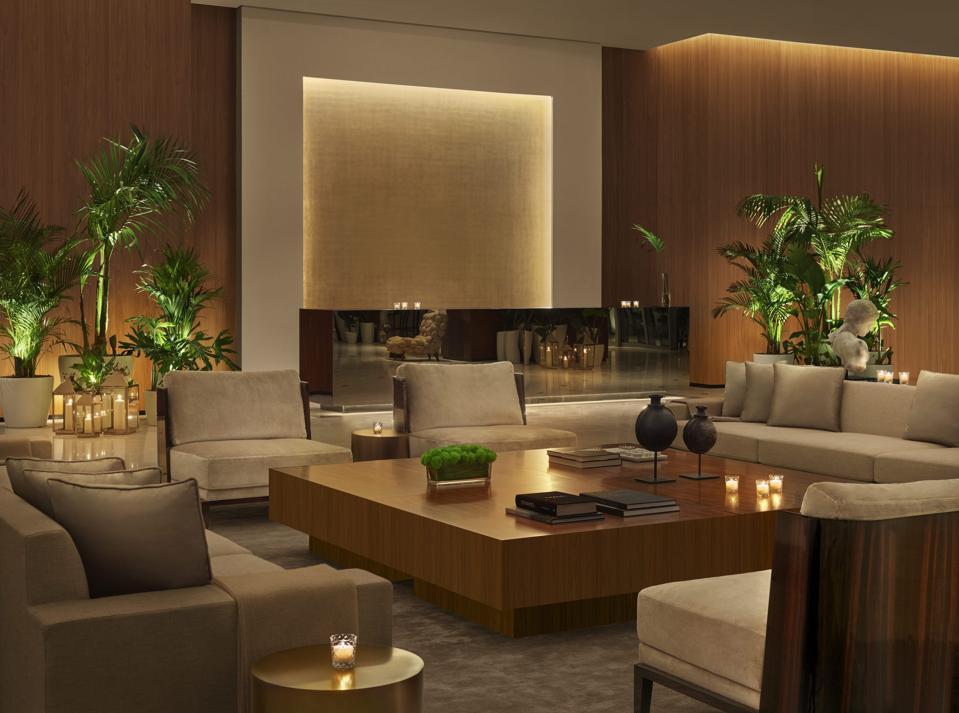 Abu Dhabi Edition Lobby.