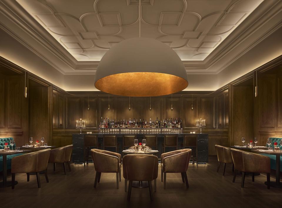Abu Dhabi EDITION Oak Room.