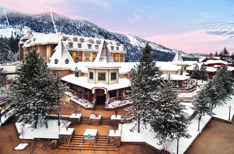 The Lake Tahoe Resort Hotel offers guests a pristine setting.