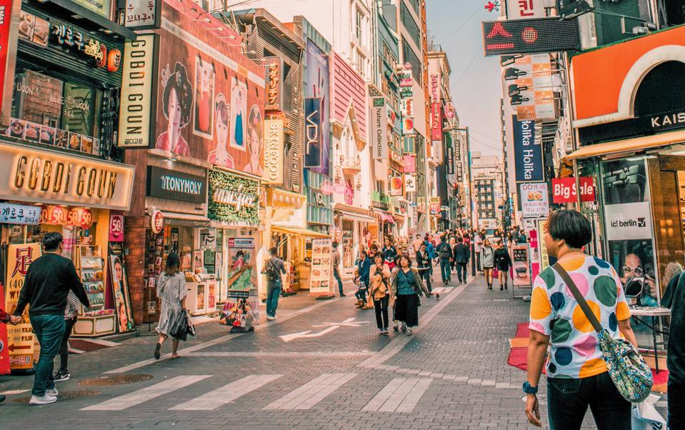 Myeongdong is Seoul's best neighborhood to shop for K-beauty.