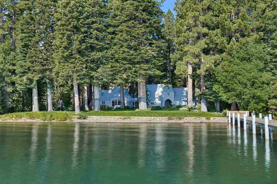 Mark Zuckerberg compound in Tahoe City