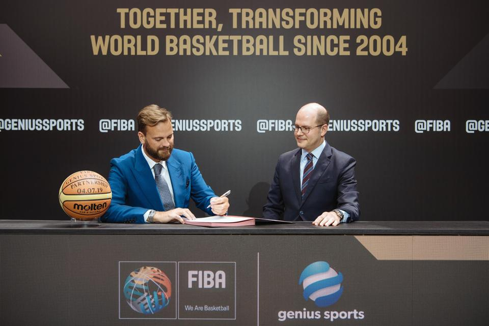 FIBA and Genius Sports announced a new ″long-term partnership″ last week on July 4th, 2019.