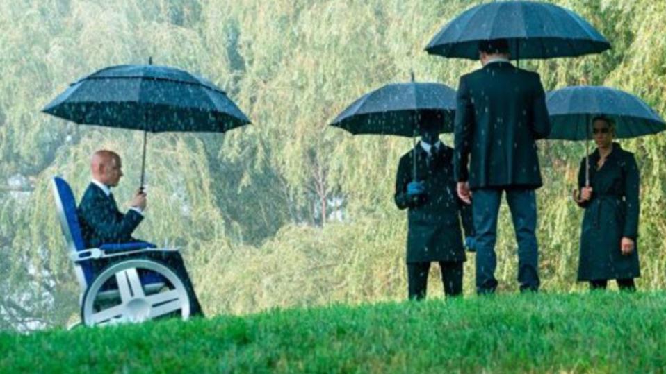James McAvoy, Kodi Smit-McPhee, Alexandra Shipp and Tye Sheridan in 'X-Men: Dark Phoenix'