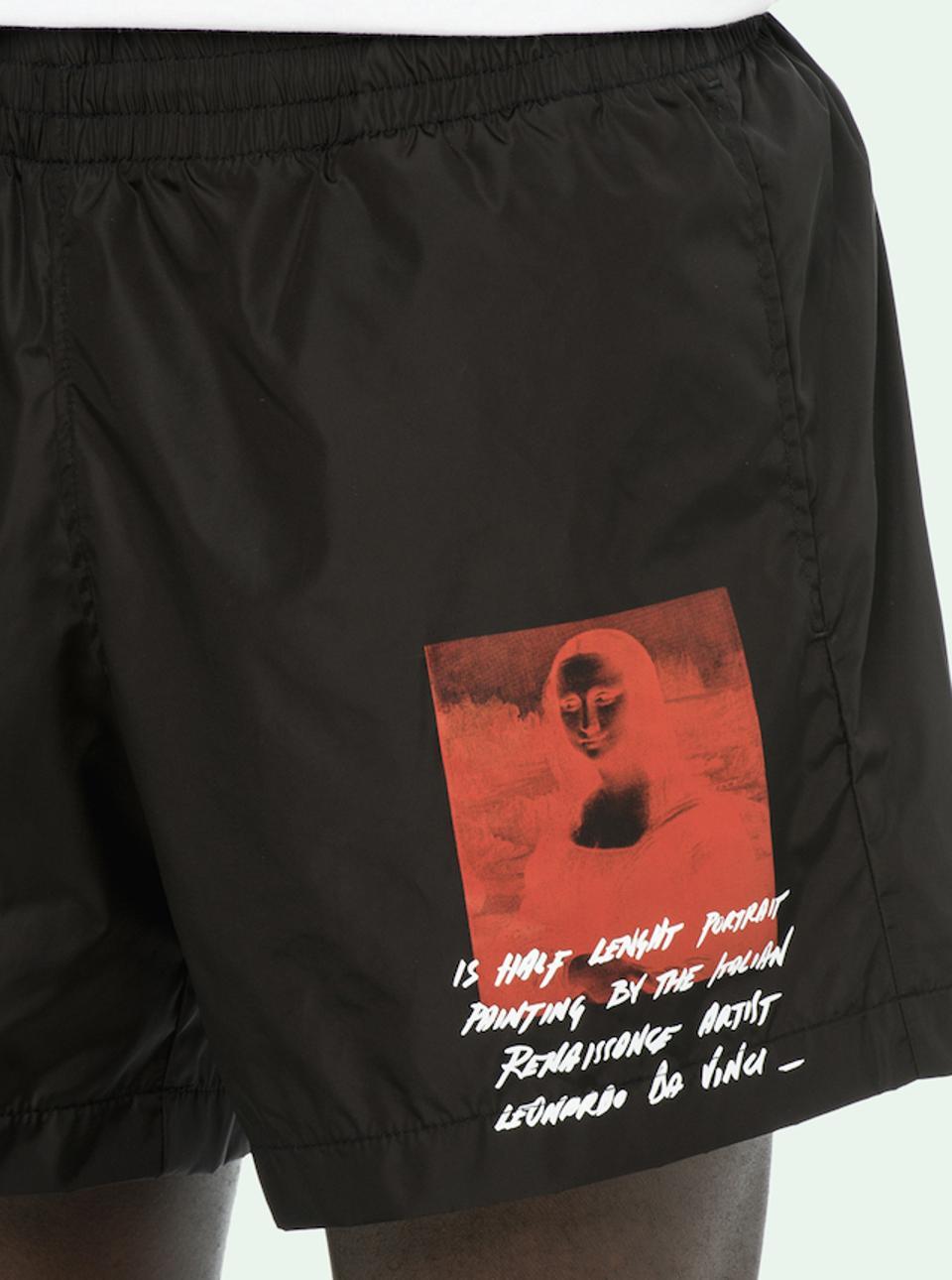 Off-White Monalisa Swim Trunks_Best Swim Trunks for Men