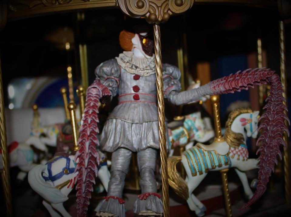 Pennywise carousel.