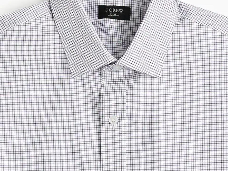 J. Crew Ludlow Stretch Easy Care Cotton Dress Shirt