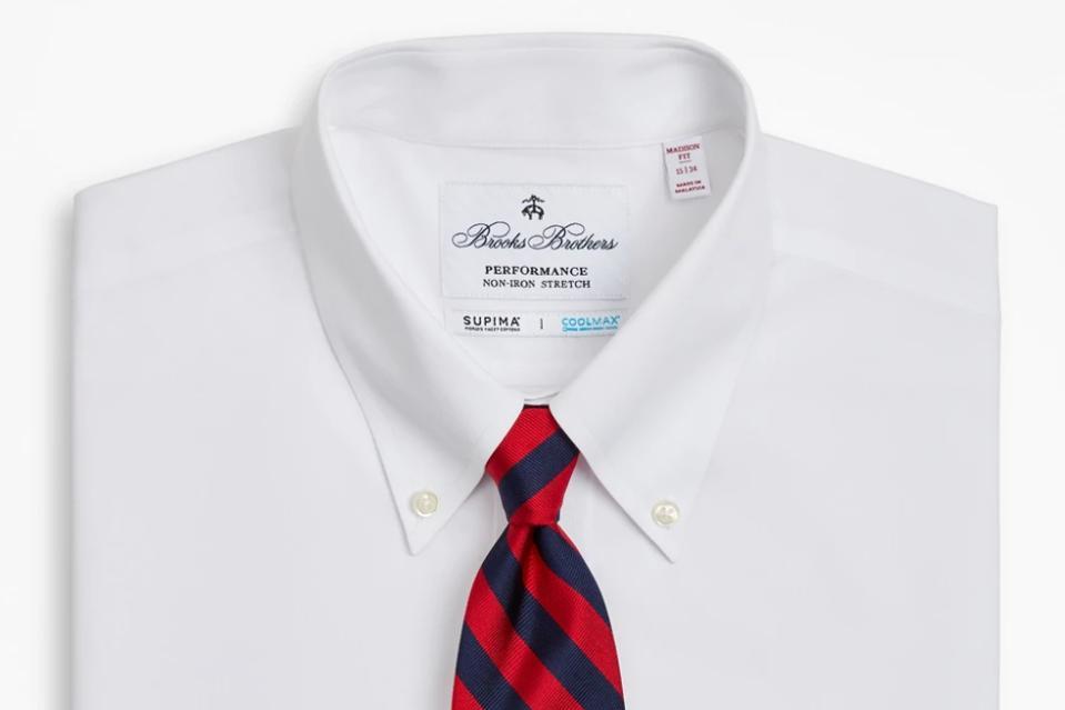 Brooks Brothers Madison Classic-Fit Dress Shirt