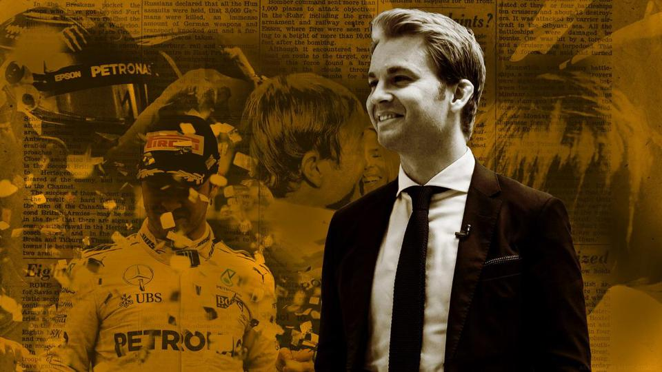 Retired F1 driver Nico Rosberg