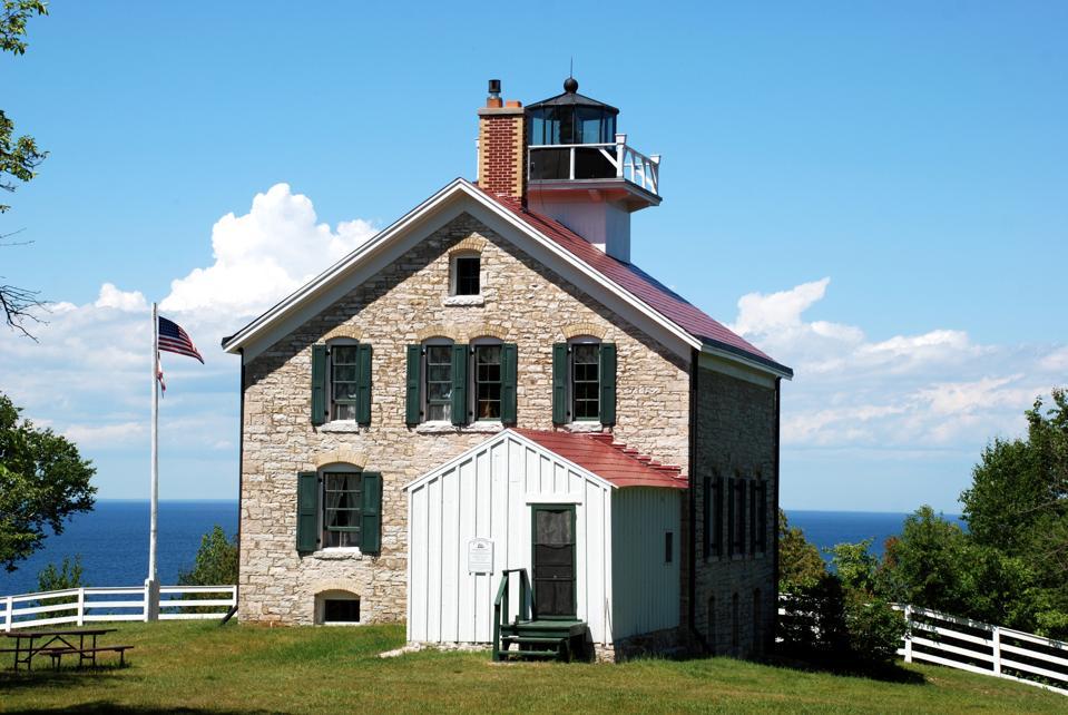 Pottawatomie Lighthouse on Rock Island