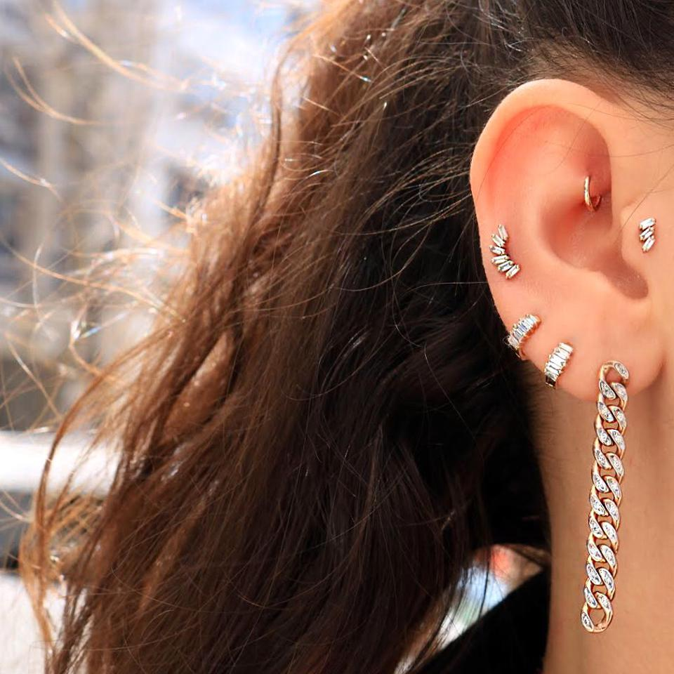 Celebrity Party: diamond and 14K ear party