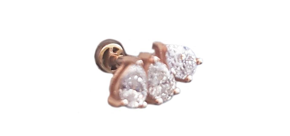 pearl shape and diamonds