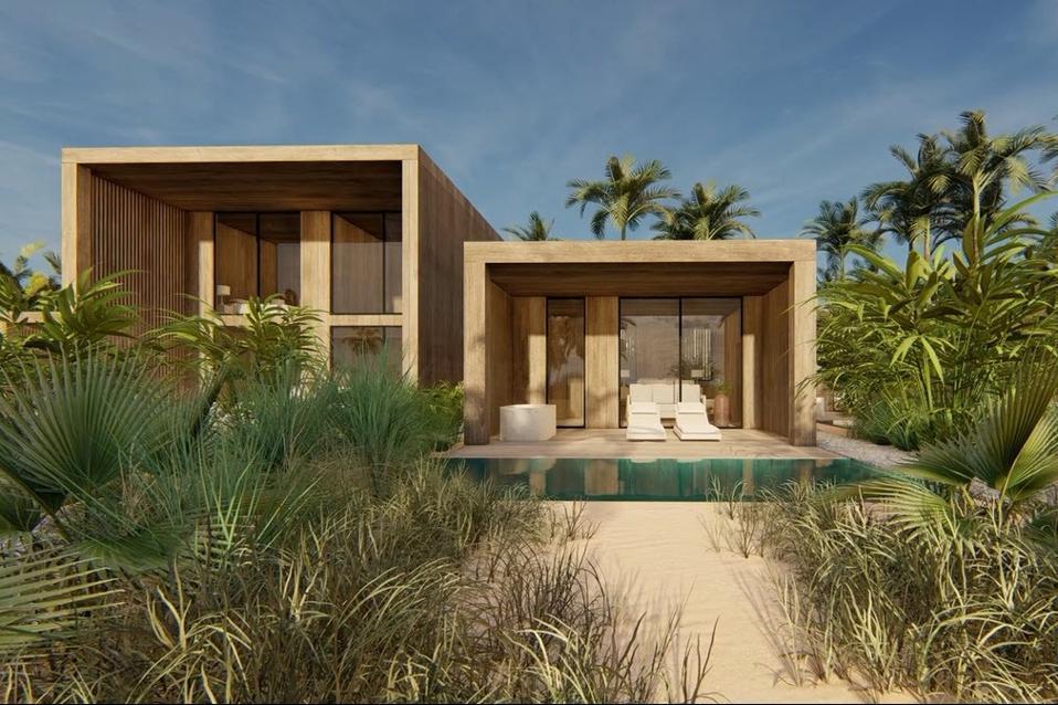 Beachfront villas at illa Bimini Resort & Residences