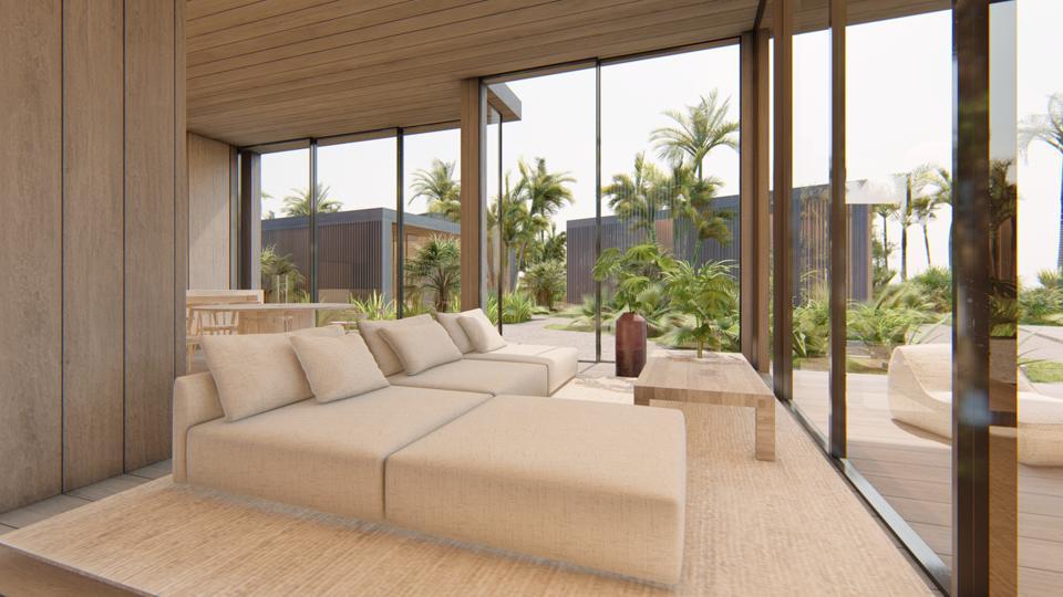 Villa interior at illa Bimini Resort & Residences