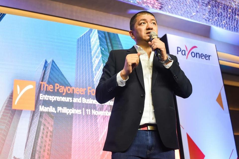 Miguel Warren is Payoneer's Philippines country manager and regional head.