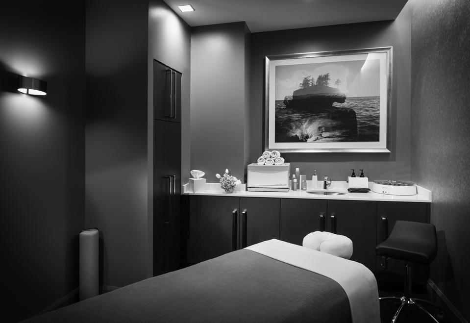 A treatment room at the Logan in Philadelphia