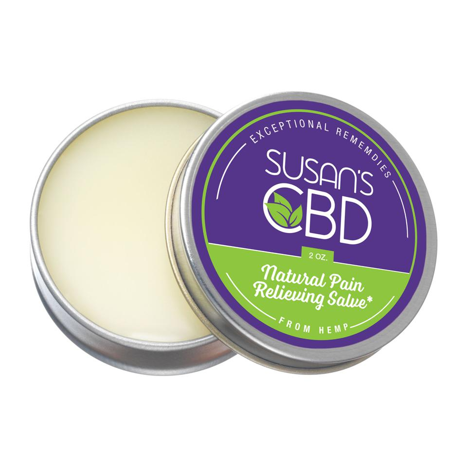 One of the CBD balms available at the Logan