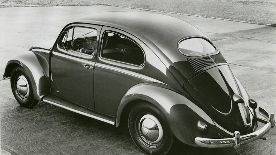 A 1954 VW Beetle